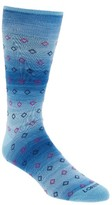 Lorenzo Uomo Men's Mini Diamonds Crew Socks