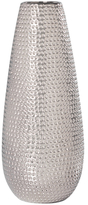 Torre & Tagus Tall Helio Hammered Ceramic Bullet Vase