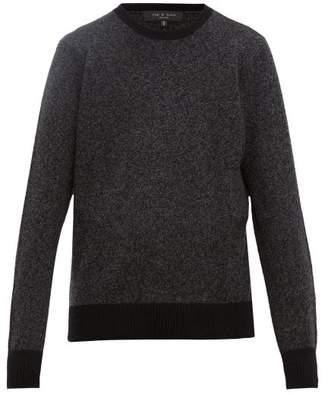 Rag & Bone Haldon Cashmere Blend Sweater - Mens - Black