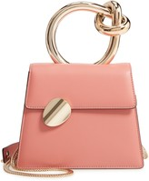 Benedetta Bruzziches Small Brigitta Leather Top Handle Satchel
