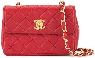 Chanel Pre-Owned 1989-1991 CC Logos Chain Shoulder Bag