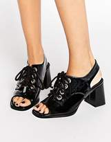 Asos Tang Lace Up Sandals