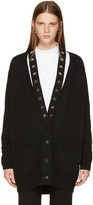 Givenchy Black Cashmere Stars Cardigan