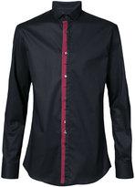 Philipp Plein contrasting button shirt - men - Cotton/Spandex/Elastane - M