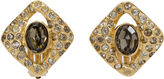 One Kings Lane Vintage Givenchy Gold-Plated Amethyst Earrings