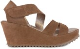 Thumbnail for your product : Pedro Garcia Fides Strappy Platform Wedge Sandal