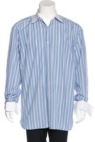 Tom Ford Striped French Cuff Shirt