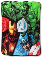 "Marvel Marvel's The Avengers Throw - Blue (50""x60"")"