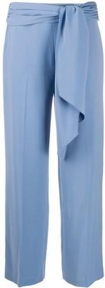Seventy Tie-Waist Straight Leg Trousers