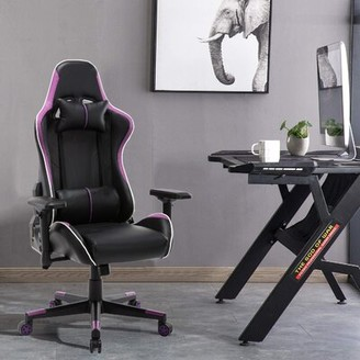 Oficine Gaming Chair MIFXIN Color: Purple