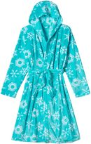 Girls 4-16 SO® Print Cozy Sleep Bath Robe