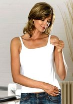 Emma Jane Womens Cotton Nursing Tank size 10-12 in White by