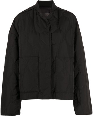 Christian Wijnants Jasmin quilted bomber jacket