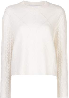 Roche Ryan cable knit loose-fit jumper