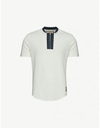 Prevu Seville stretch-woven polo shirt