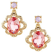 Carolee Spring Bouquet Drop Earrings