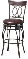 Linon O & X Back Bar Stool