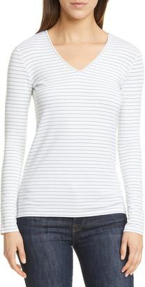 Nordstrom Signature Stripe Long Sleeve Top