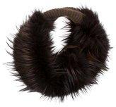 Lanvin Fox Fur Circle Scarf