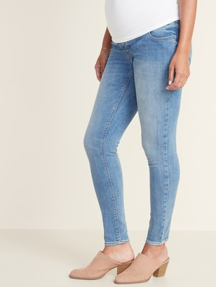 Old Navy Maternity Front Low-Panel Rockstar Super Skinny Jeans