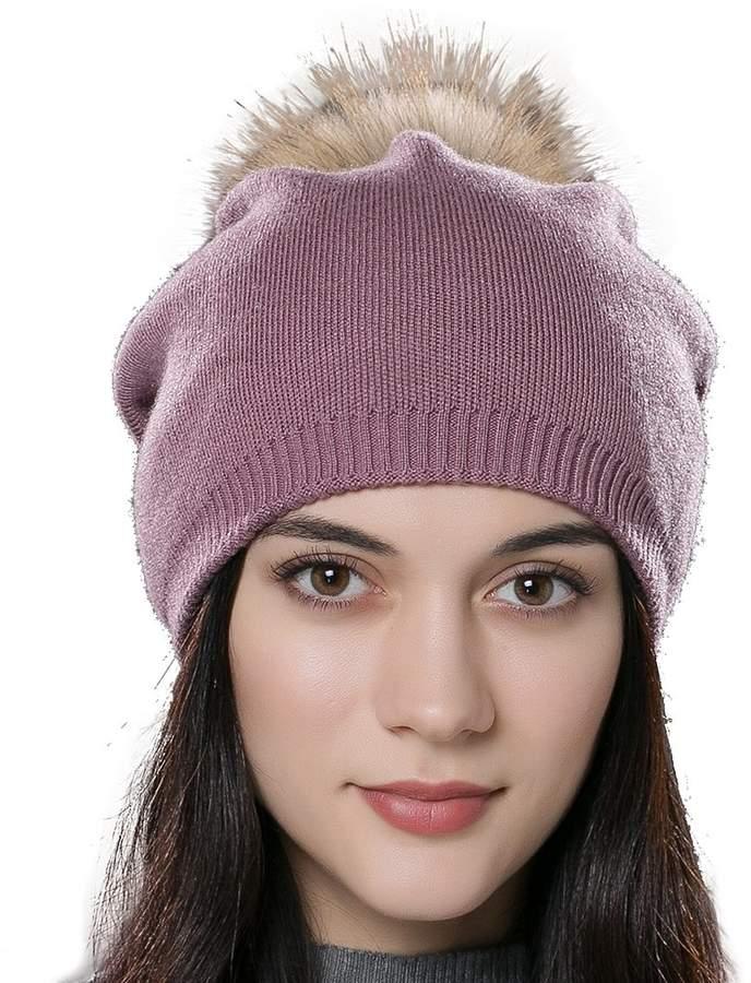 2dbea9c6b51f3 Purple Fur Hat - ShopStyle Canada