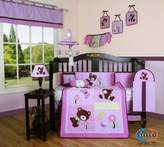 Boutique Girl Teddy Bear 13PCS CRIB BEDDING SET by GEENNY
