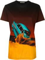Marco De Vincenzo smashed car print T-shirt