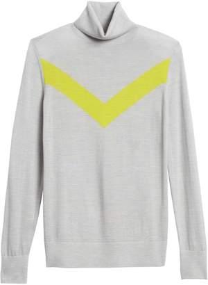 Banana Republic Washable Merino Chevron Sweater