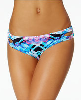 Bar III Hot Tropic Keyhole Hipster Bikini Bottoms