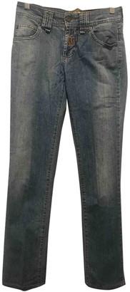 Galliano Blue Cotton Jeans for Women