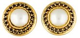 Moschino Faux Pearl Clip-On Earrings