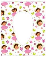 Neat Solutions Dora the Explorer Potty Topper Disposable Stick-in-Place Toile...