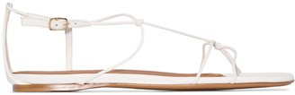 Zimmermann strappy flat leather sandals