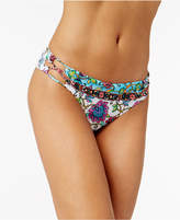 Nanette Lepore Nanette by Rosarito Floral-Print Strappy-Side Bikini Bottoms, Created for Macy's Women's Swimsuit