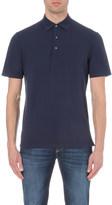 Canali Cotton-pique polo shirt