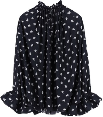 Lanvin Mother And Child Logo Blouse