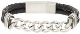 Steve Madden Chain Link Braided Bracelet