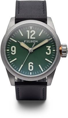 Filson Men's Swiss Quartz Field Watch, 41mm