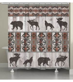 Laural Home Southwest Lodge Shower Curtain Bedding