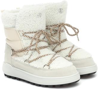 Bogner Chamonix 3 shearling snow boots