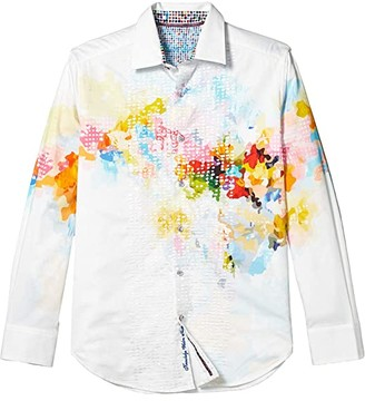 Robert Graham High Octane Button-Up Shirt (Multi) Men's Clothing