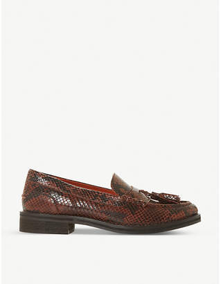 Bertie Giorgeo leather loafers