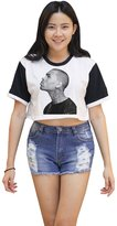 Me Women's Chris Brown Crop T-shirt