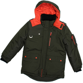 Big Chill Forest Green Expedition Coat - Boys