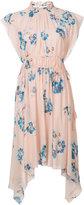 Ulla Johnson floral asymmetric hem dress - women - Silk/Polyester - 4
