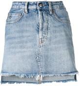 Marcelo Burlon County of Milan vintage denim skirt