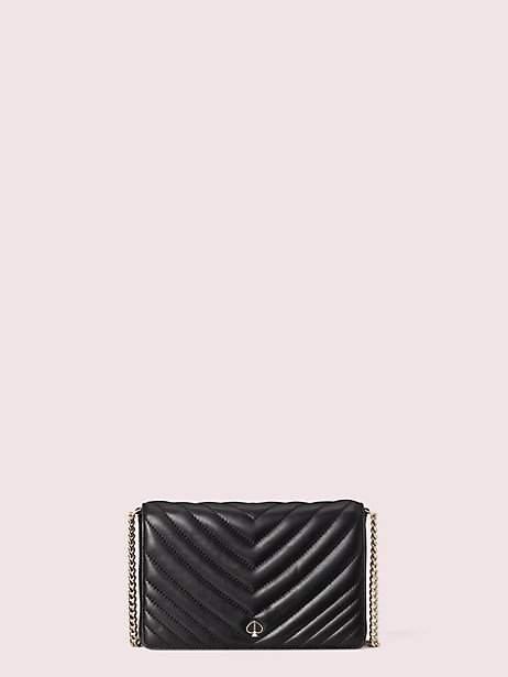 Kate Spade Amelia Chain Wallet, Black