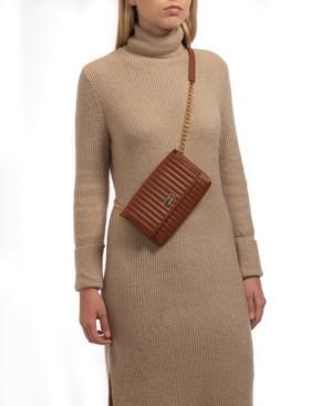 Vince Camuto Vertical Stitch Convertible Belt Bag