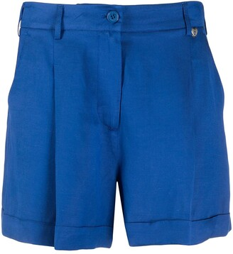 Twin-Set Pleated Tailored Shorts