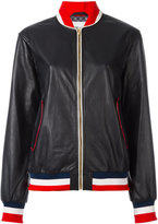 Michel Klein bomber jacket - women - Leather - 38